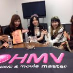 HMVオンラインにコメント動画掲載中!